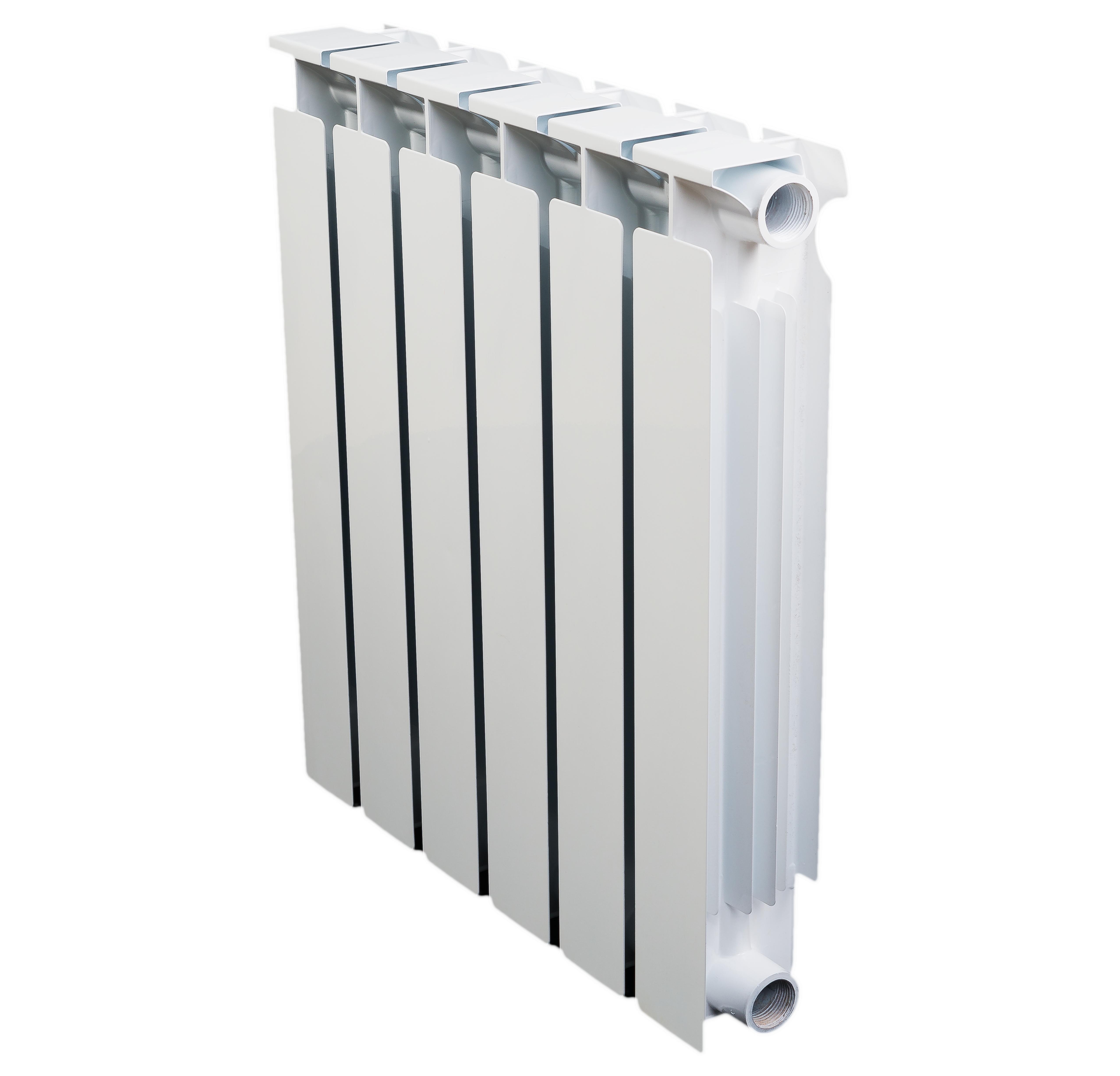 Радиатор биметаллический Алтермо 7 06 ракурс