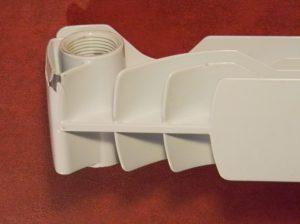 Непрочный алюминиевый корпус радиатора (не Алтермо)