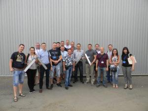 Участники экскурсии на производство радиаторов Алтермо